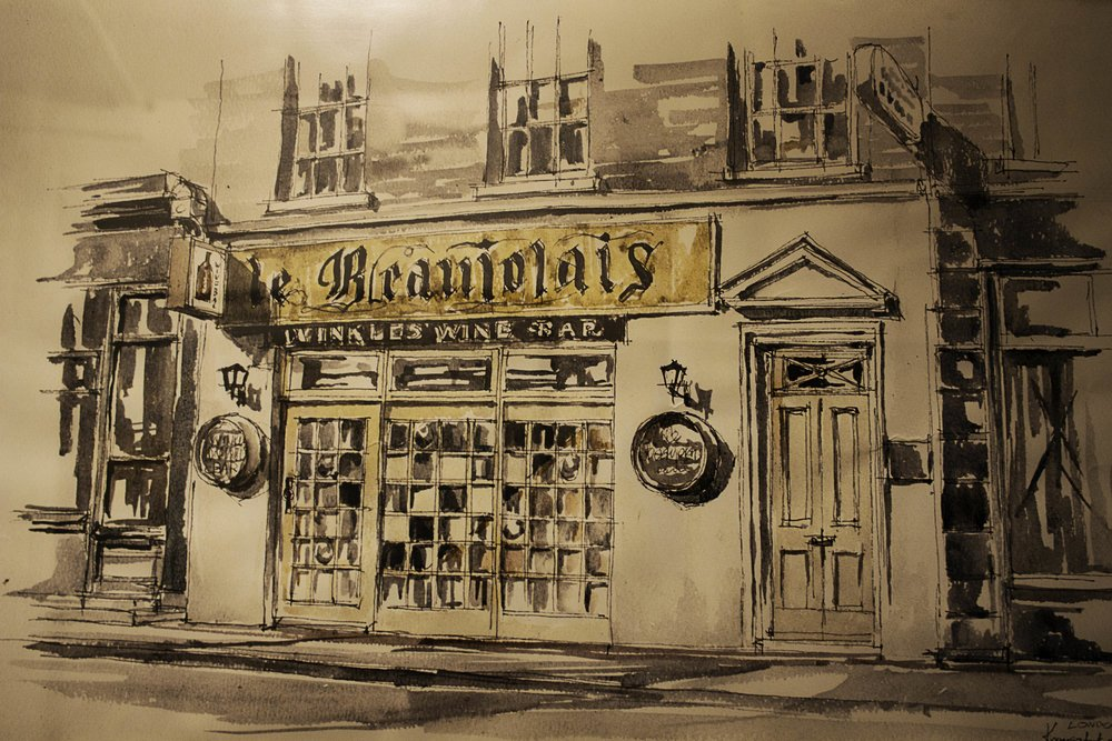 Le Beaujolais wine bar