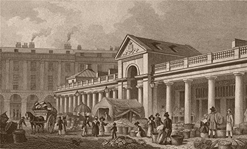 Old photo of Covent Garden